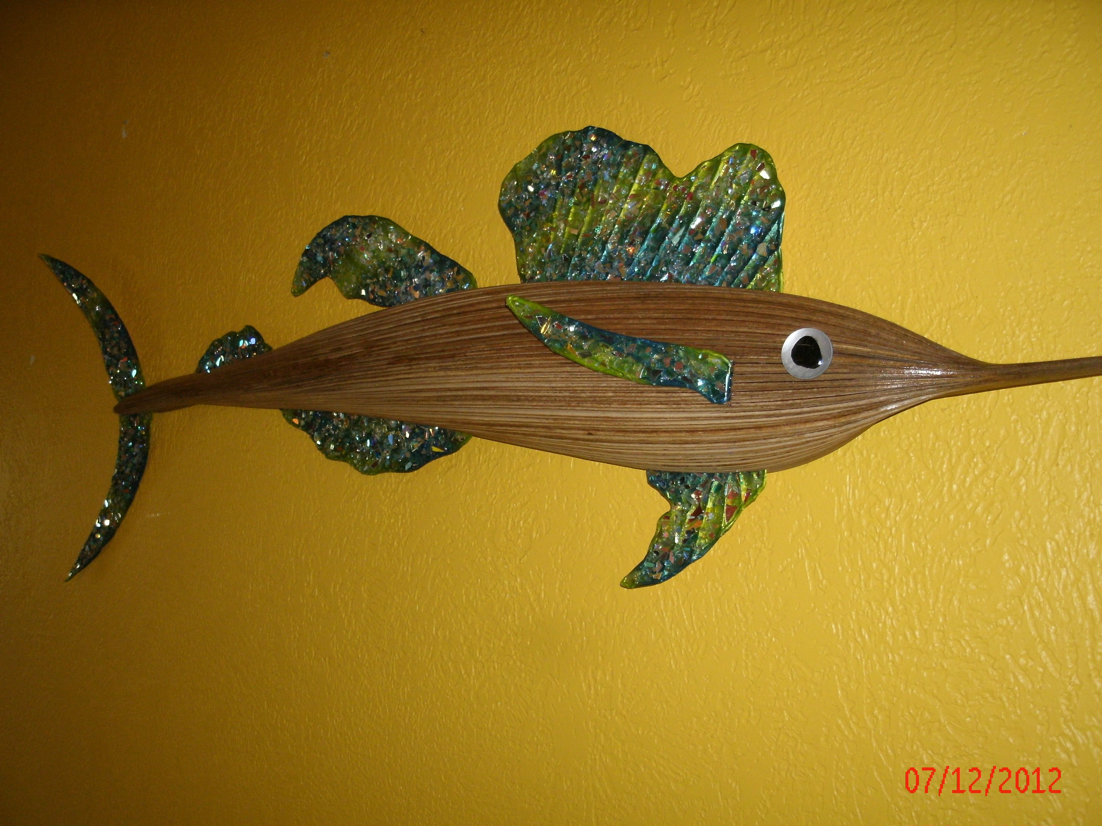 Old Fashioned Fish Wall Art Metal Ensign - Art & Wall Decor ...