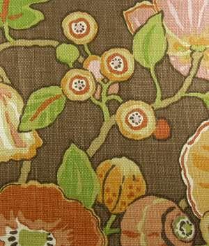 PKaufmann Fabric Hip Hop Chocolate   Drapery Upholstery