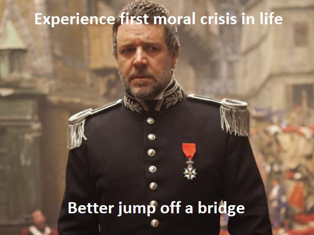Oh, My Pop Culture Jesus: Jean Valjean, Javert, and Theology