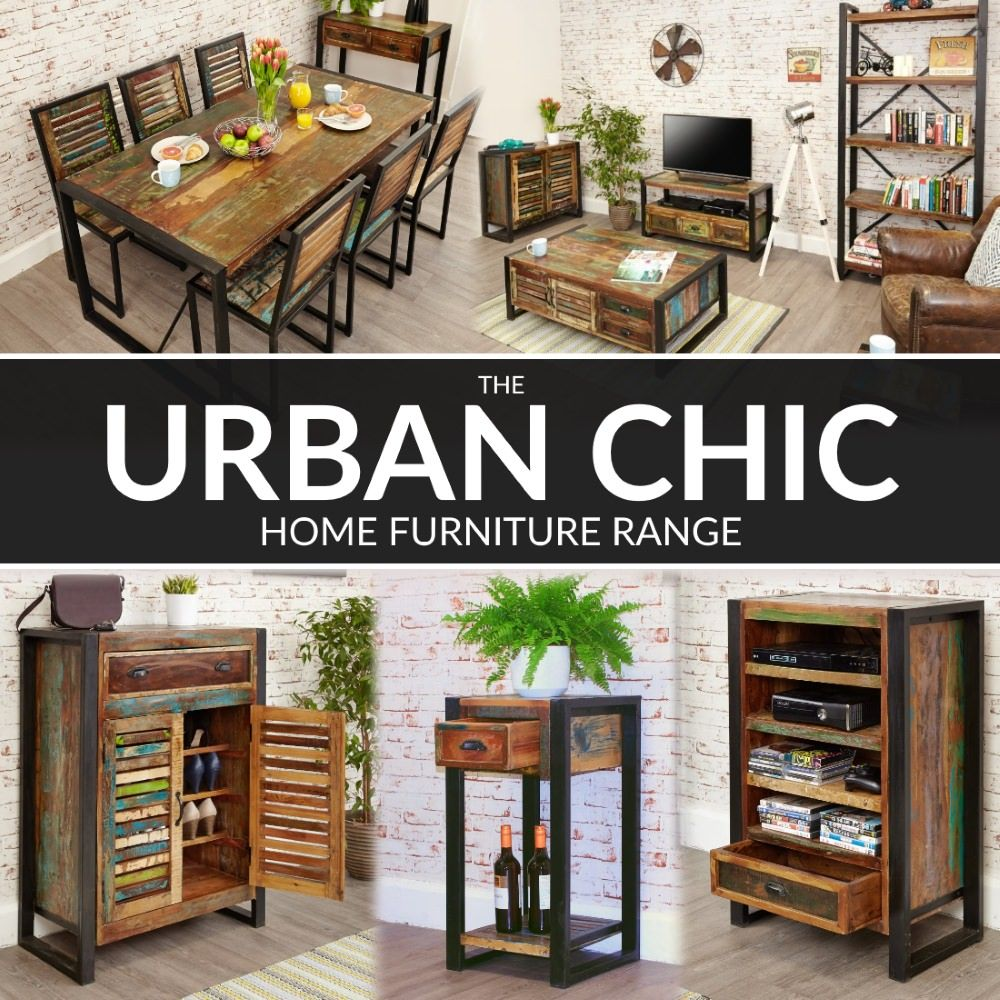 The Baumhaus Urban Chic Reclaimed Home And Dining Room Furniture Range From 121