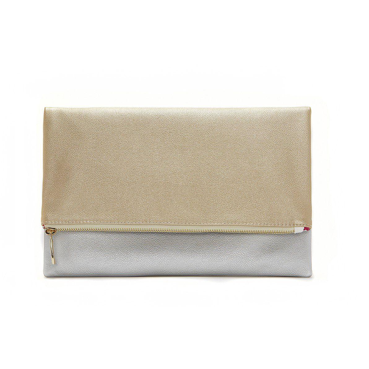 77626fa4279 Shop Alchemy Designer Eco Silk Gold and Silver Two Tone Foldable ...