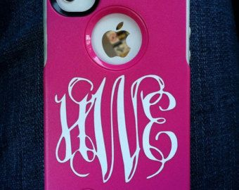 iphone 4 monogram case on Etsy, a global handmade and vintage marketplace.