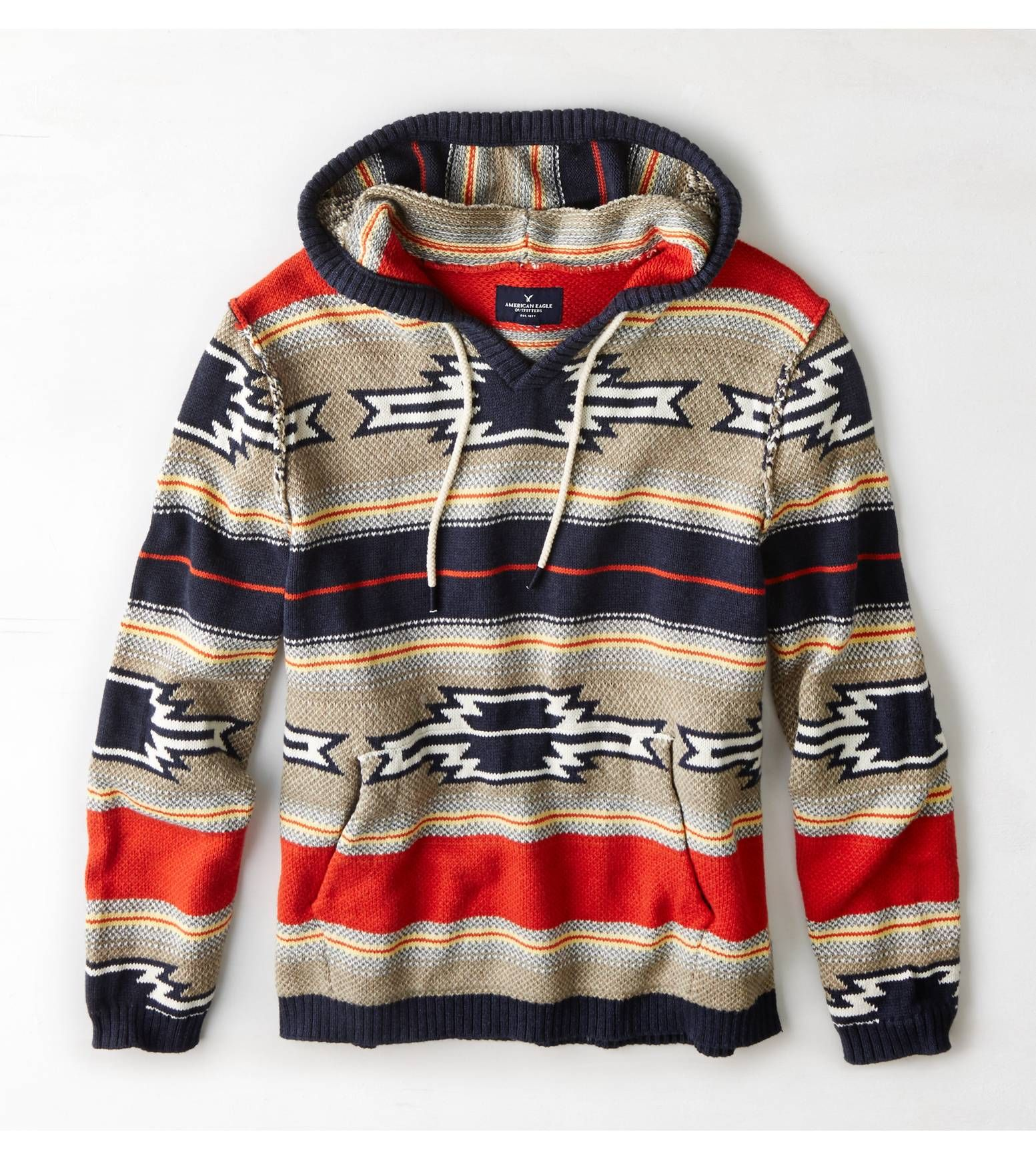 Aeo Baja Hoodie Multi American Eagle Outfitters Desire Clothing Clothes Hoodies [ 1739 x 1553 Pixel ]