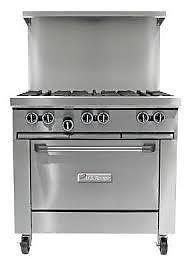 garland 6 burner stove | business, industrial | City of Toronto | Kijiji Mobile