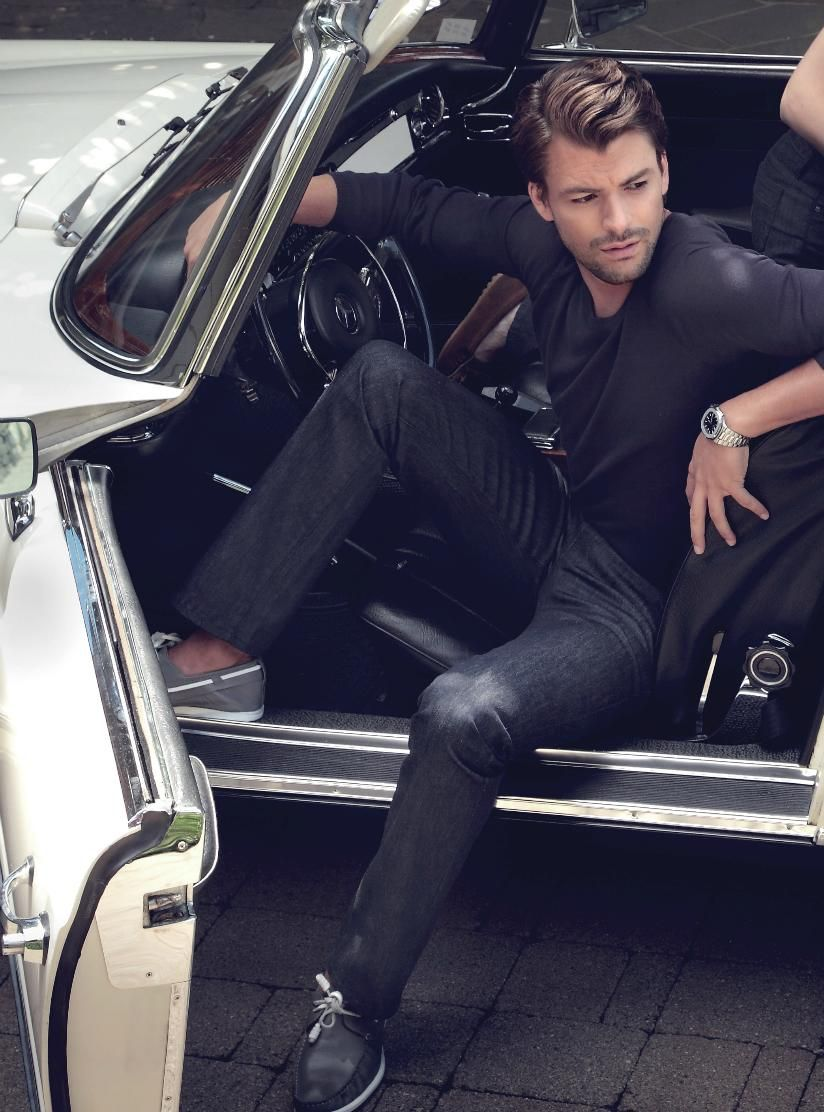 Getting out of car #photography #poses #stance | Male ...