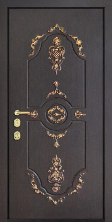 """Дверь входная стальная """"Версаль"""" Зеркало"""