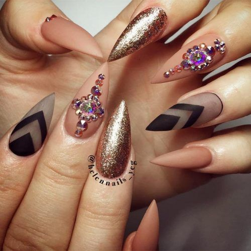Trendy Nail Designs For Your Pointy Nails To Look Chic Nailed It