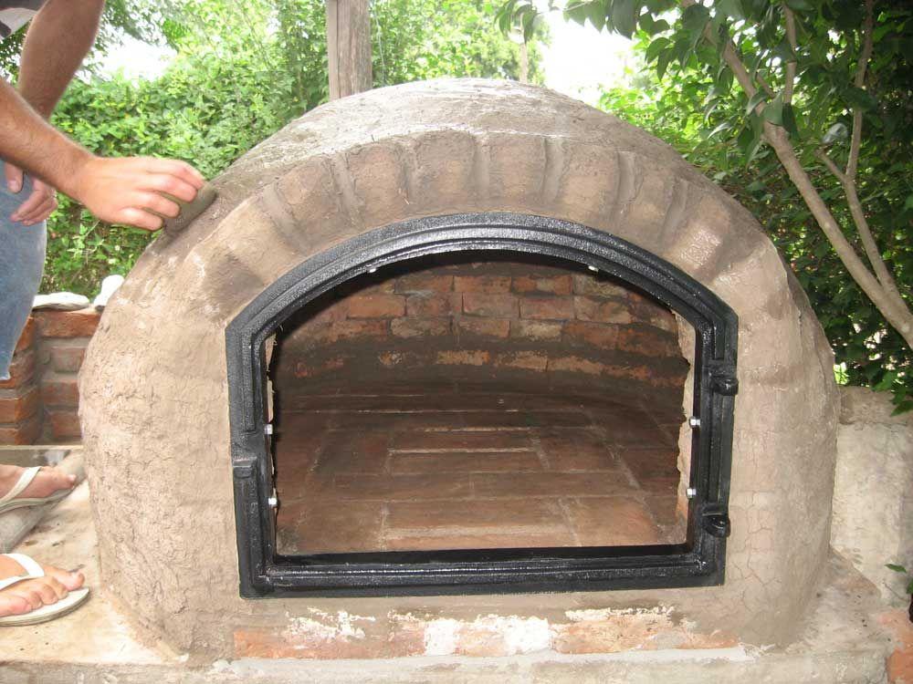 Como hacer un hornito de barro oven patios and house - Como hacer pizza en horno de lena ...
