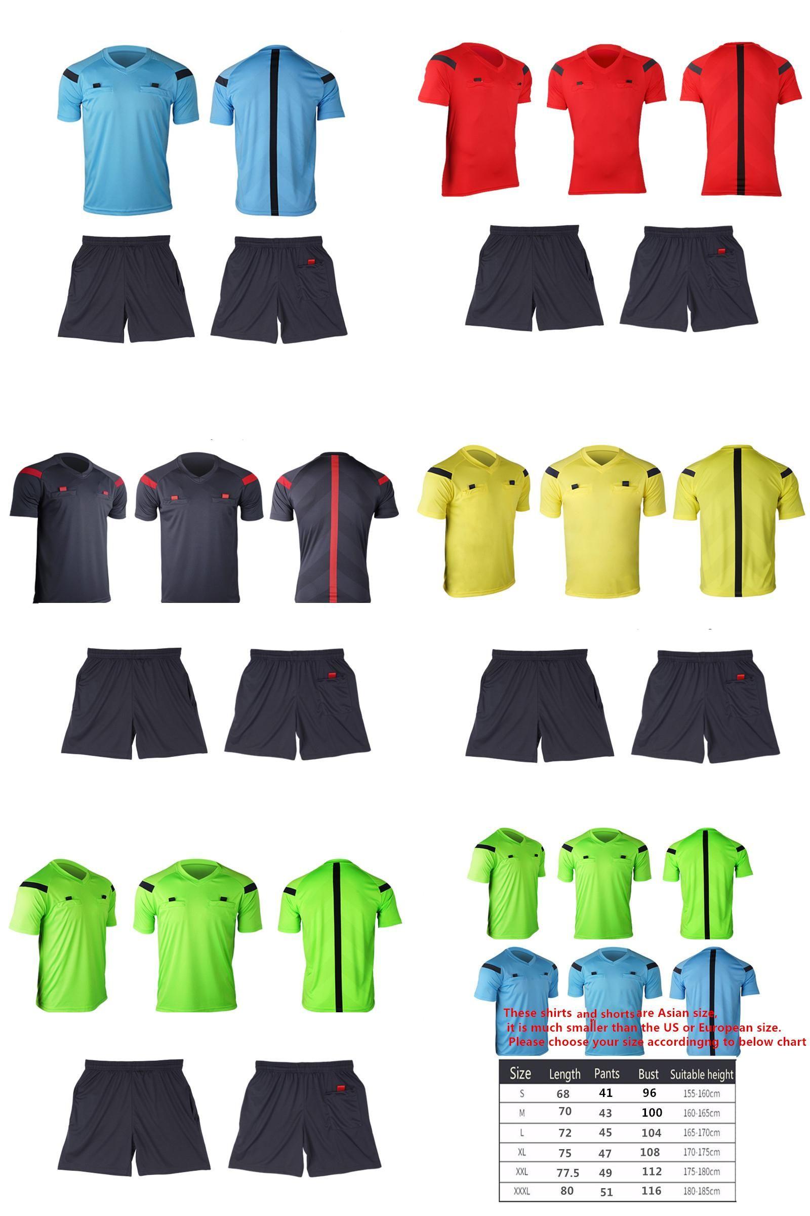 Visit To Buy Referee Jersey Soccer Set 2017 Football Judge Uniform Futbol Shirt Suit Tracksuits Survetement Football Maillot De Foot Advertisement Com Imagens