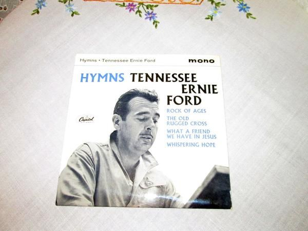Tennessee Ernie Ford - HYMNS - Capitol EAP1 20480 - 1958
