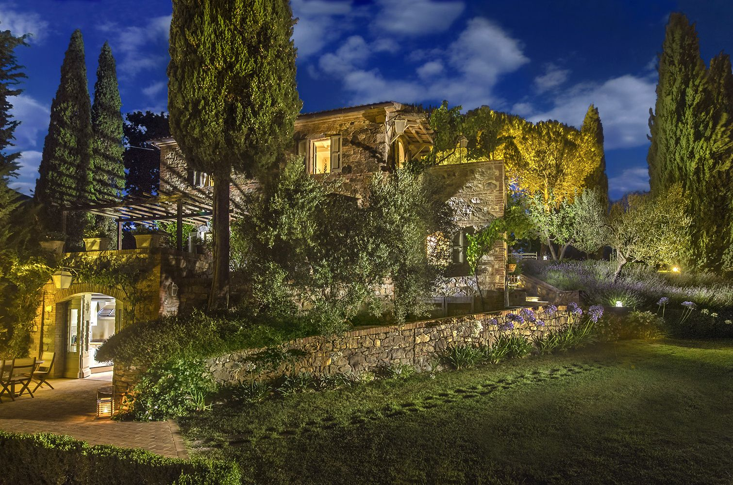 lunablu, #luxury #villa, #cetona, #tuscany | villas in tuscany