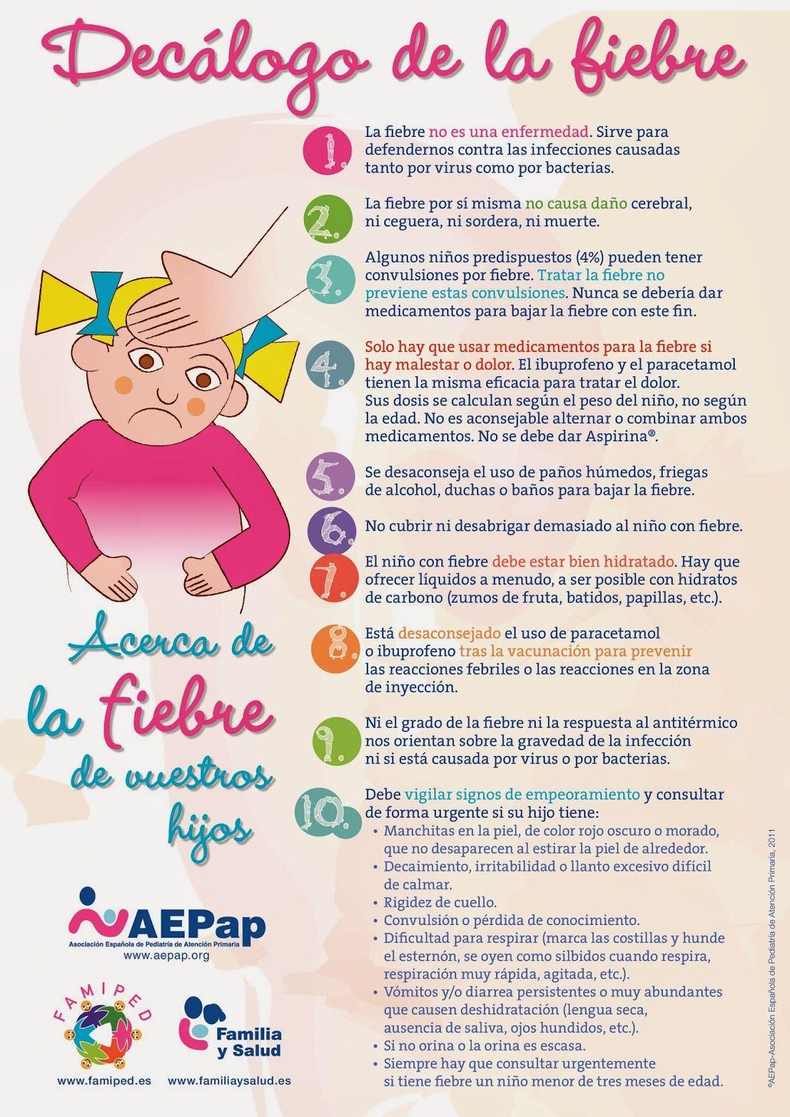 Decalogo Fiebre Page 0 Jpg 1131 1600 Pediatric Nursing Nurse Love Little Babies