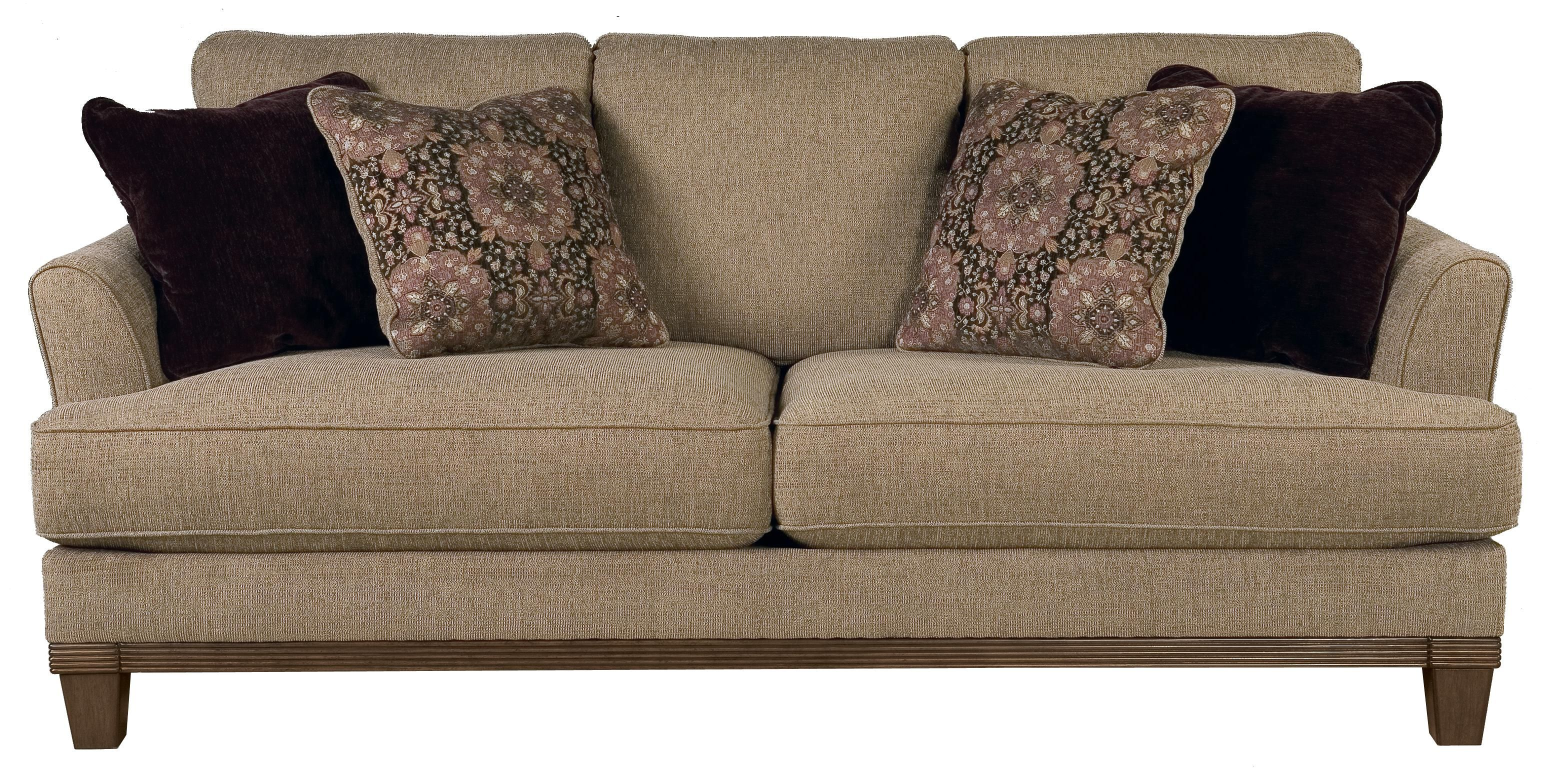 Mallie - Pecan Sofa by Signature Design by Ashley   Brown ...