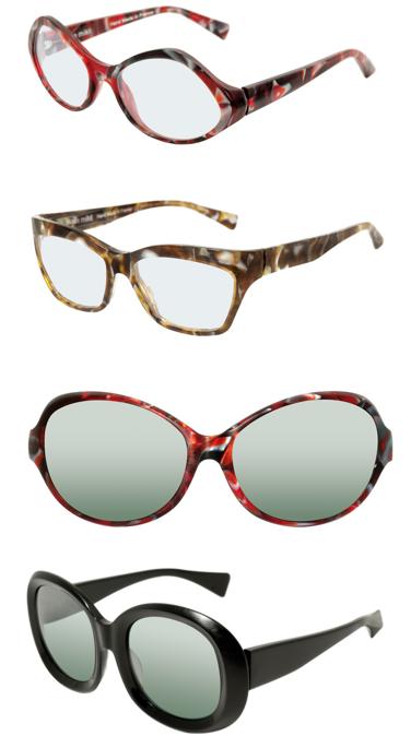 6aebb2e1ff447 Alain Mikli 2011 MATT acetates - classy camo eyewear from France ...