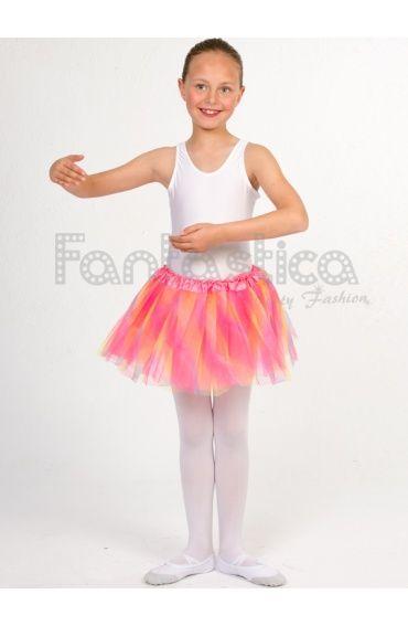 1e83da483 Tutú para Ballet y Danza - Falda de Tul para Niña y Mujer Multicolor III