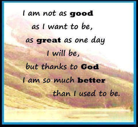 I M Proud Of The Progress I Made To Be The Person I Am Today Then