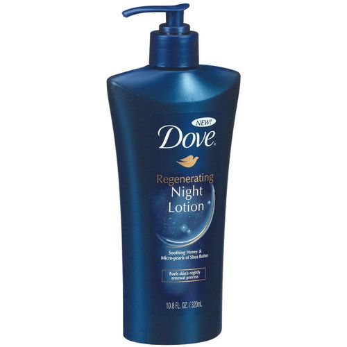 Dove Regenerating Night Lotion, 10.8 fl oz