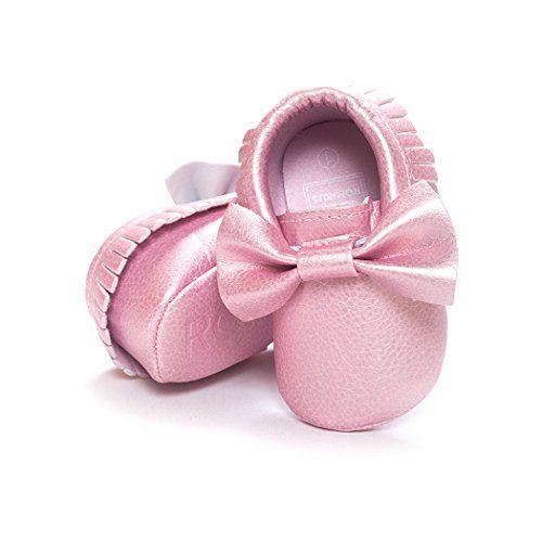 Anna-Kaci Baby Bogen weiche Sohle Leder Schuhe Infant Jungen Mädchen Kleinkind Mokassin 0-18 Monate - http://on-line-kaufen.de/anna-kaci/12-18-months-anna-kaci-baby-bogen-weiche-sohle-0-18-9