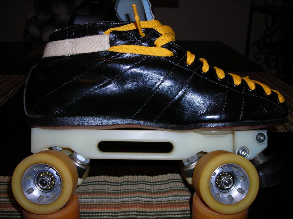 Roller skating bury