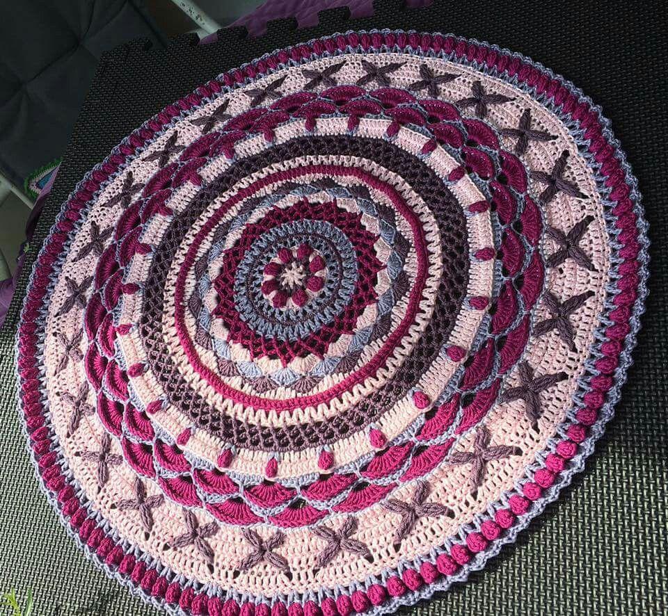 Amazing Grace Mandala - - Free Crochet Pattern on Ravelry