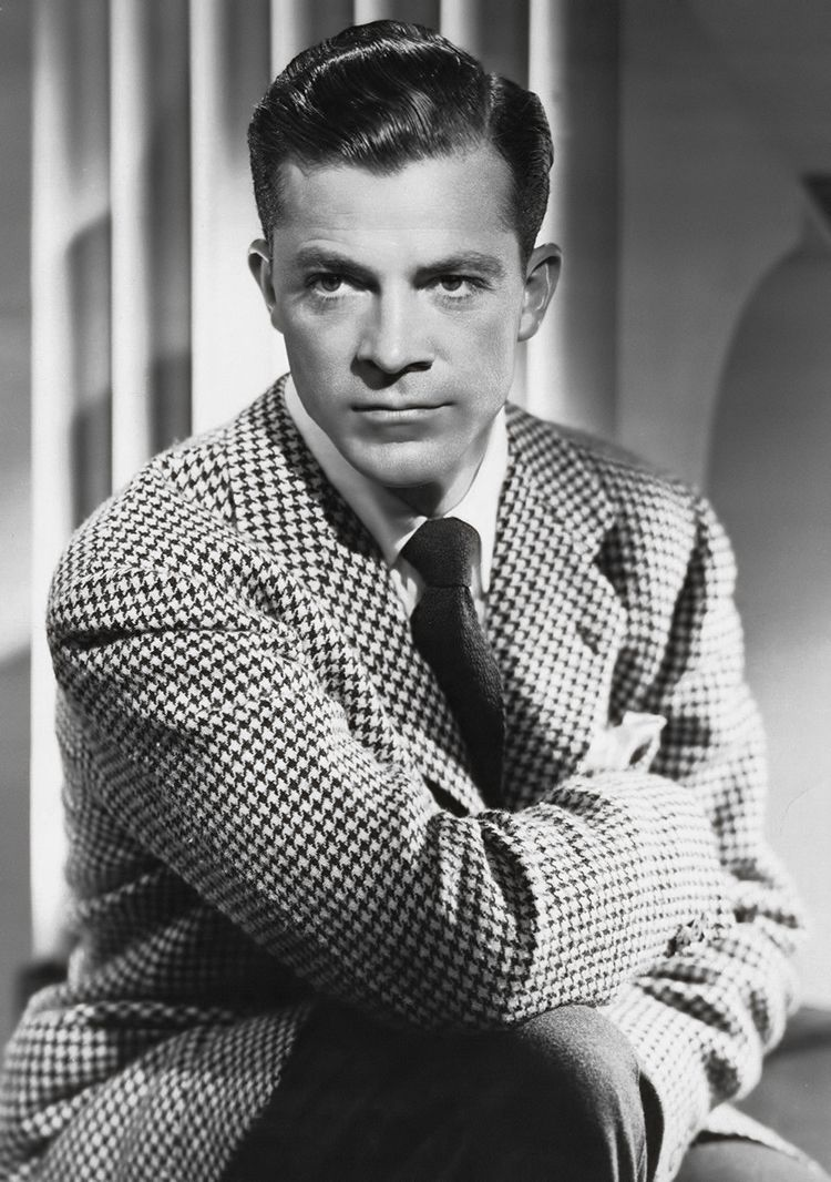 golden era suits | matineemoustache:   Dana Andrews, 1940s