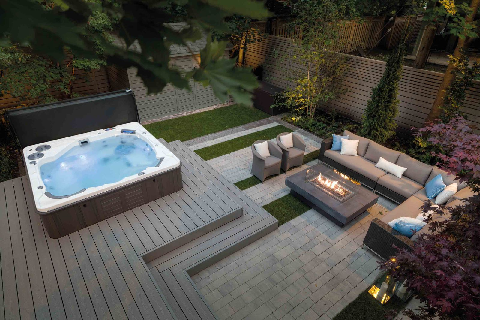 New! Introducing the House Beautiful hot tub and swim spa collection #hottubdeck