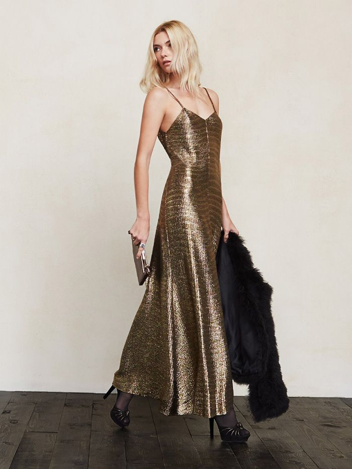 Of Course Reformation's NYE Collection Is Insanely Amazing via @WhoWhatWear