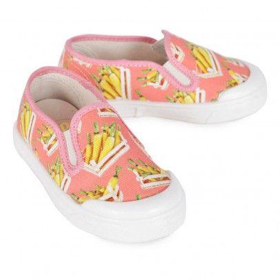 Carrot Slip-On Shoes Coral  Pèpè