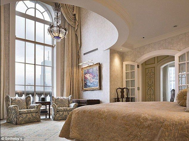 Inside New York's Most Expensive Home Threefloor Penthouse With Classy Expensive Bedrooms Inspiration Design