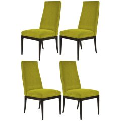 Set of 4 Baker Furniture Dining Chairs