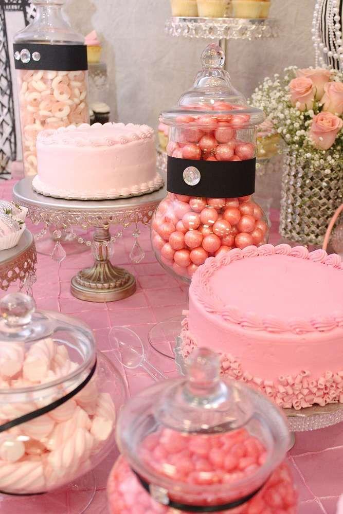 French Parisian Birthday Party Ideas Birthday Party Desserts Parisian Birthday Party Party Dessert Table
