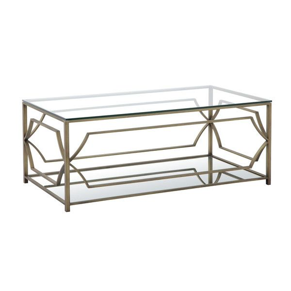Shop Wayfair For Pangea Home Edward Coffee Table   Great Deals On All