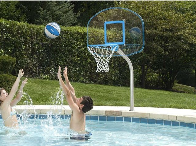Best Pool Basketball Hoops in 2019 | backyard loves | Pool ...
