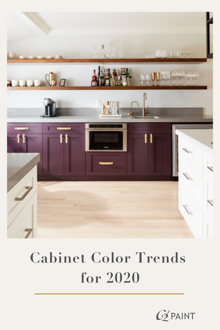 Cabinet Color Trends For 2020 Kitchen Cabinet Inspiration Kitchen Diy Makeover Kitchen Cabinet Colors
