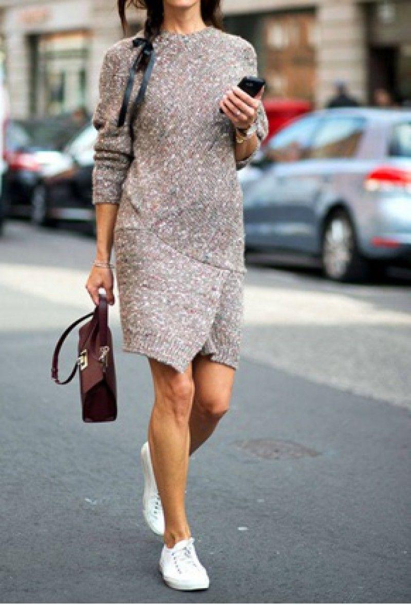 New Swetrowa Sukienka Tunika Oversize L N3034 3 5822545691 Oficjalne Archiwum Allegro Fashion How To Wear Winter Dresses