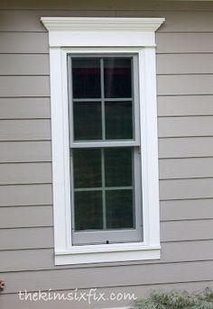 Window Surrounds Exterior Google Search Window Trim Exterior House Exterior Exterior Remodel