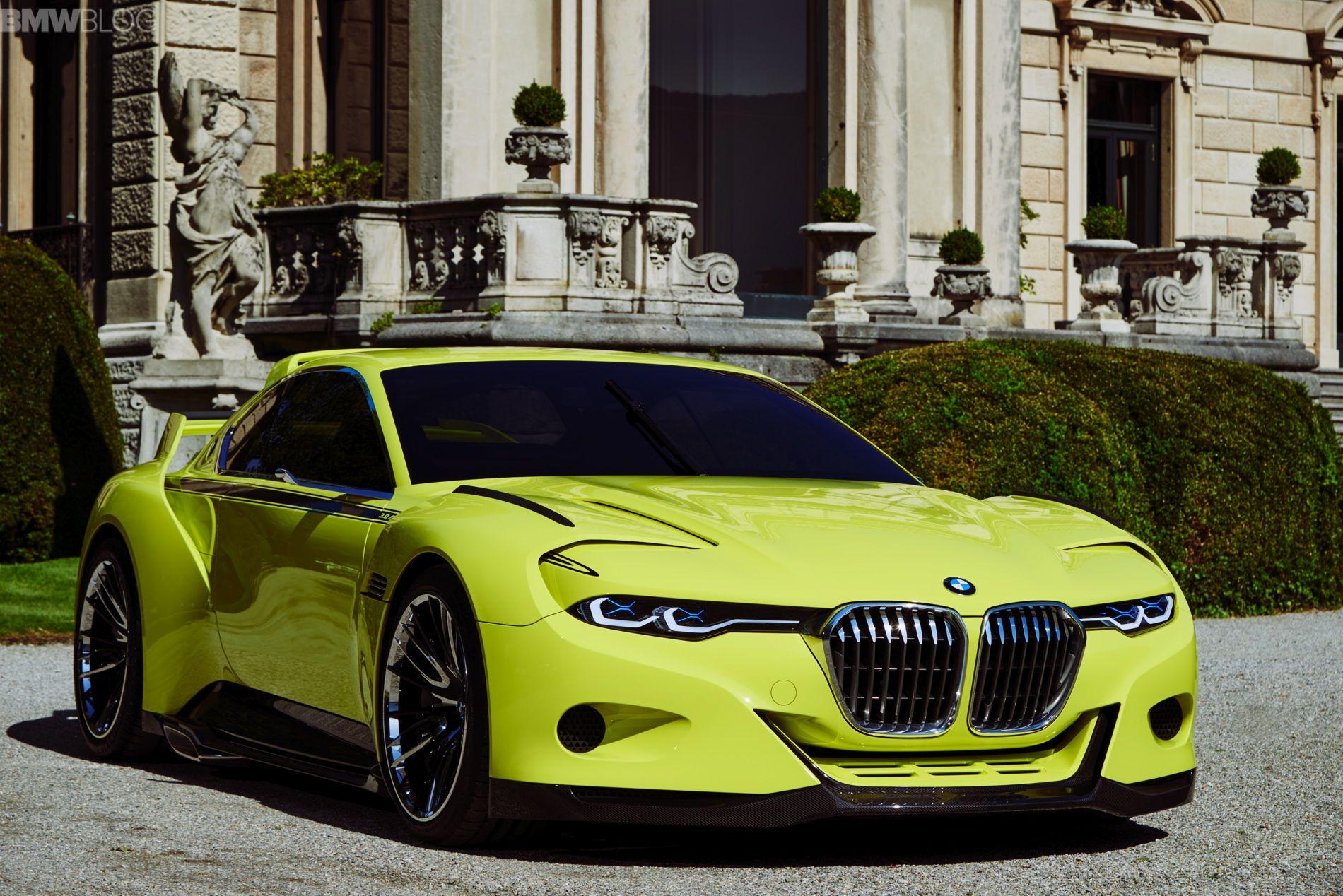 Bmw 3 0 Csl Hommage Engine Start Sound Bmw Bmw Concept Car