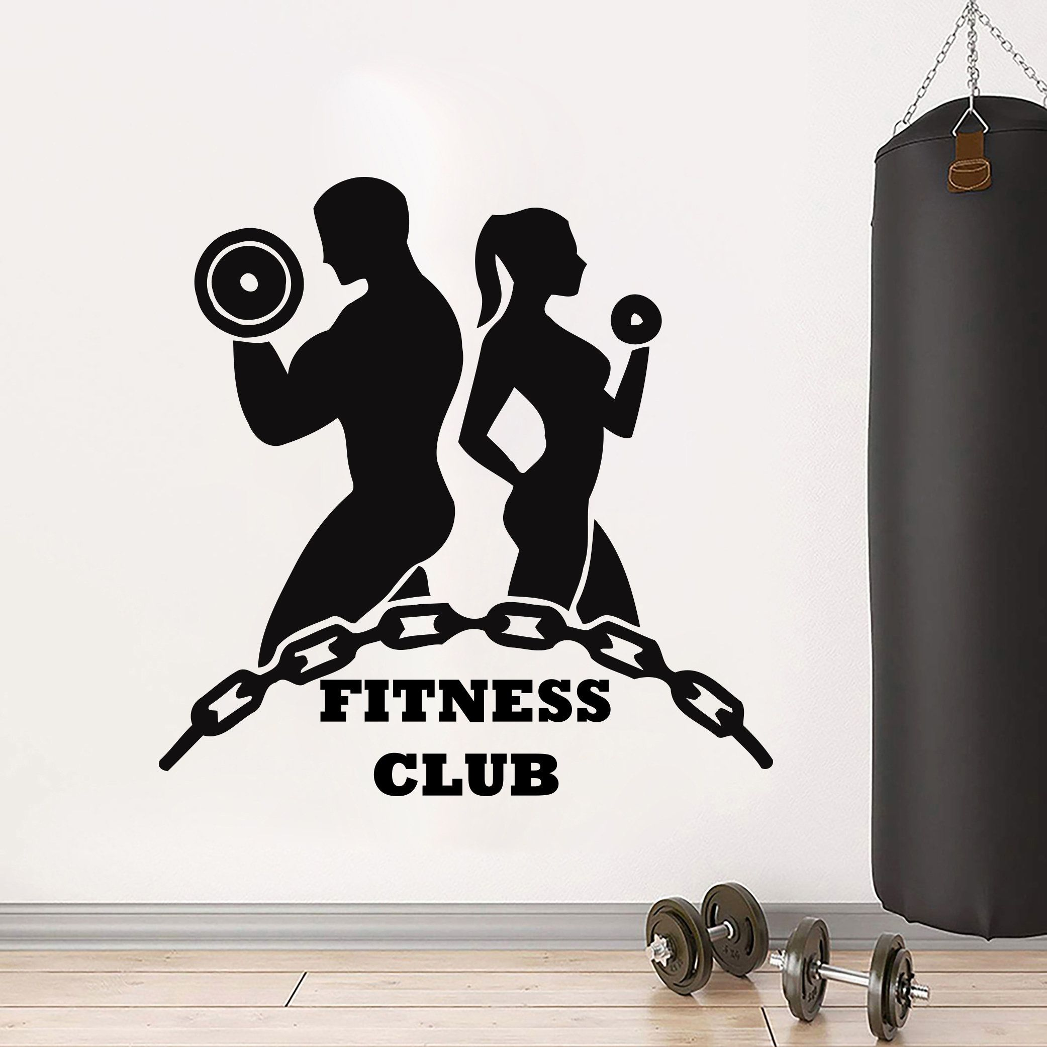 Fitness Decor Art Quotes Gym Stickers Fitness Wall Art Gifts Etsy Fitness Wall Art Gym Wall Decal Wall Art Gift