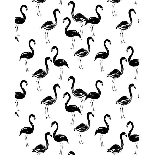 Flamingo modern watercolor girly cute black and white cell phone case... (€14) ❤ liked on Polyvore featuring accessories and tech accessories