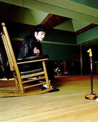 Pin By Musiclover3450 On King Of Pop L Ve Never Stop Rocking Chair Michael Jackson Jackson