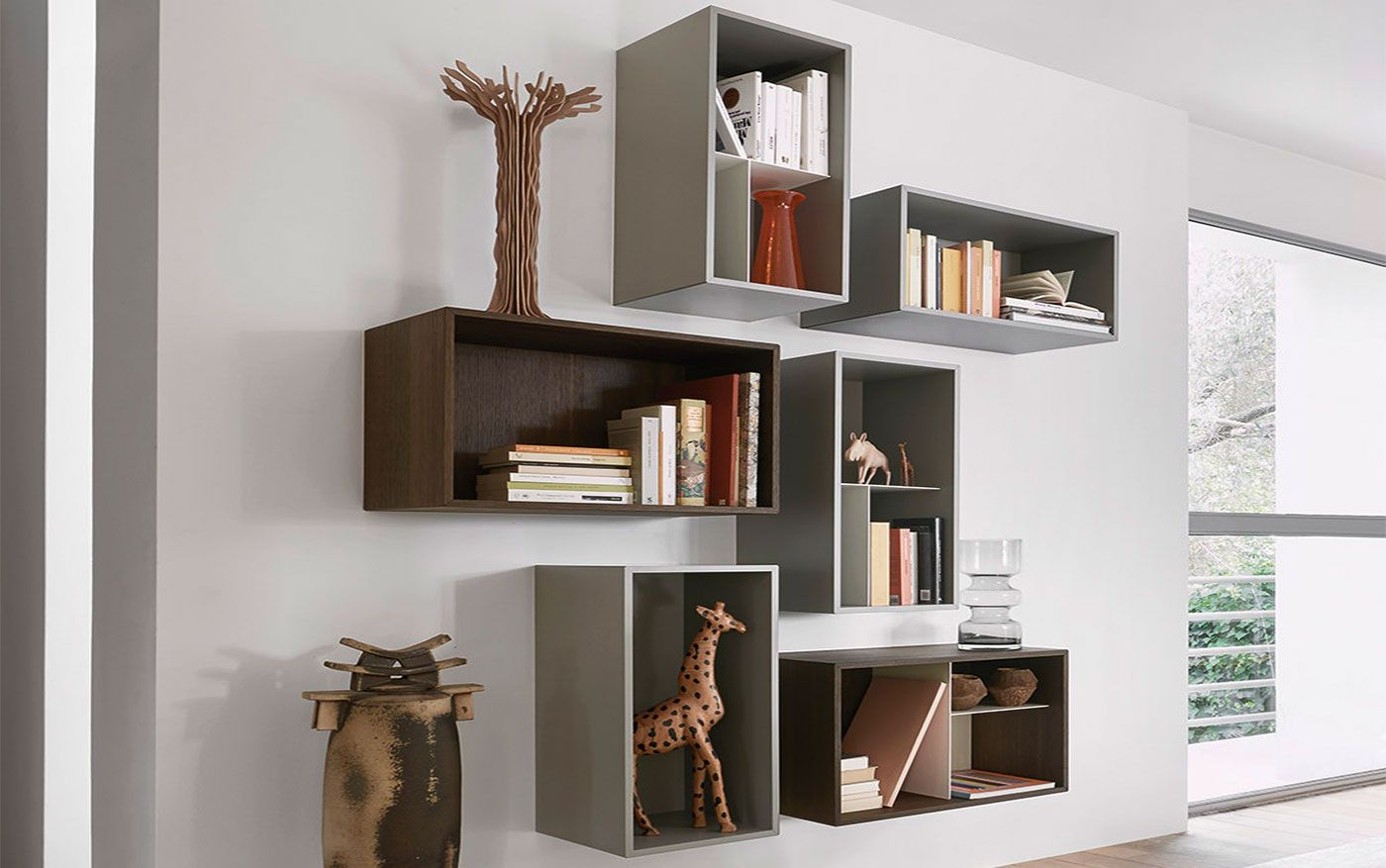 Wohnwand Lampo L5C01   Möbel / Wohnzimmermöbel / Möbel Für Unterhaltung U0026  Medien   Sechs Einzelne
