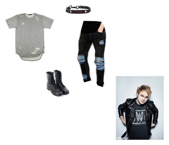 """""""Ash Summer, Summer Chapter 20"""" by cece-volcanoes on Polyvore featuring ASOS, Thomas Wylde, men's fashion and menswear"""