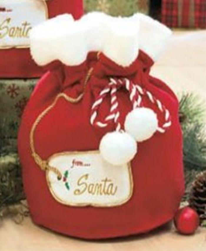Extra Large Cheap Christmas Cellophane Gift Bags Santa S
