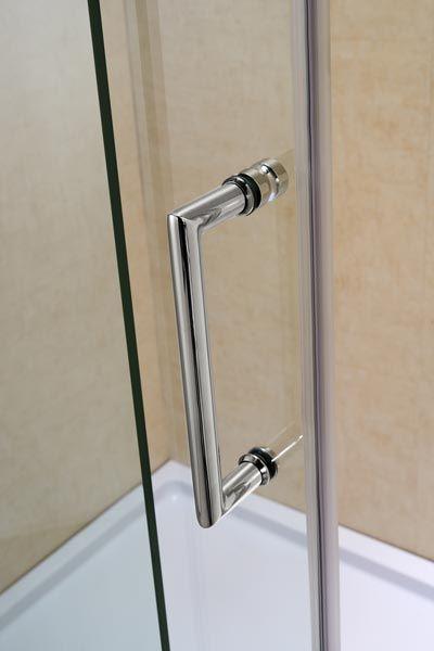 Mirage Frameless Sliding Shower Door DreamLine Bathroom Shower - Chrome bathroom door knobs for bathroom decor ideas