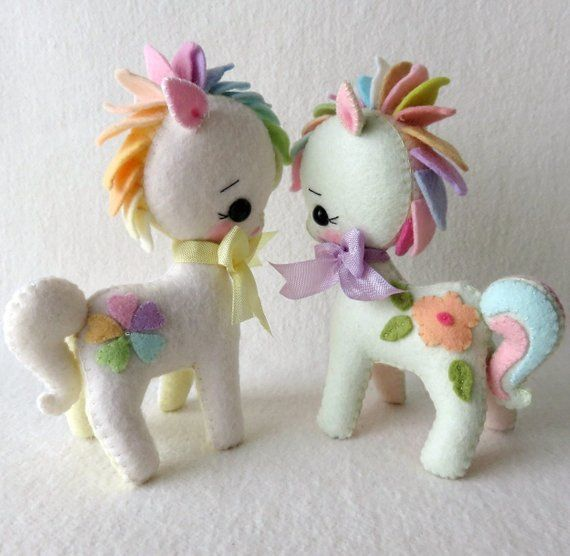 My Sweet Pony Pdf Pattern Etsy Fieltro Pinterest Felt Felt