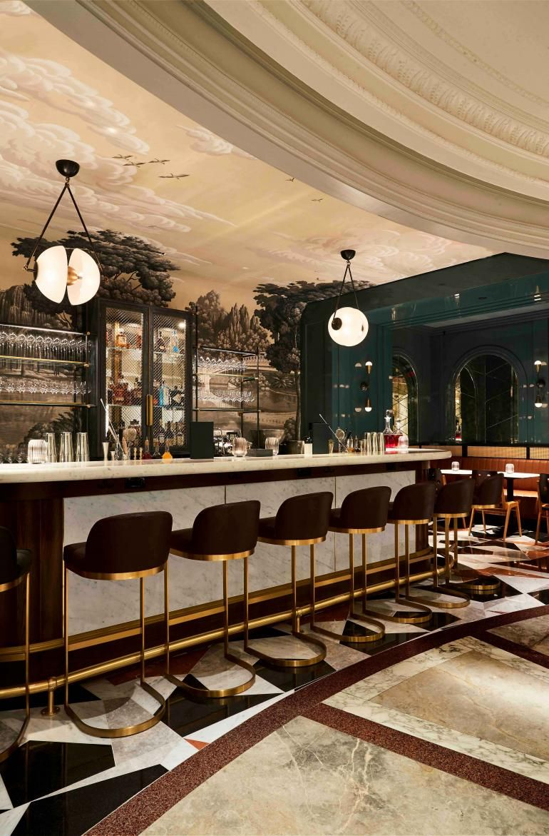 Goodman S Bar New York Usa In 2020 Coral Room European Cafe