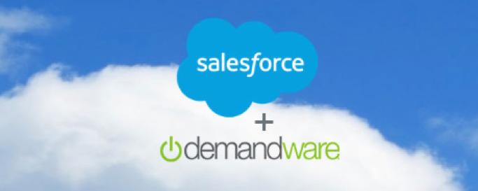 Mega-Deal! #Salesforce kauft #Demandware für 2,8Mrd. Dollar. Am Horizont kommt die Salesforce Commerce #Cloud.