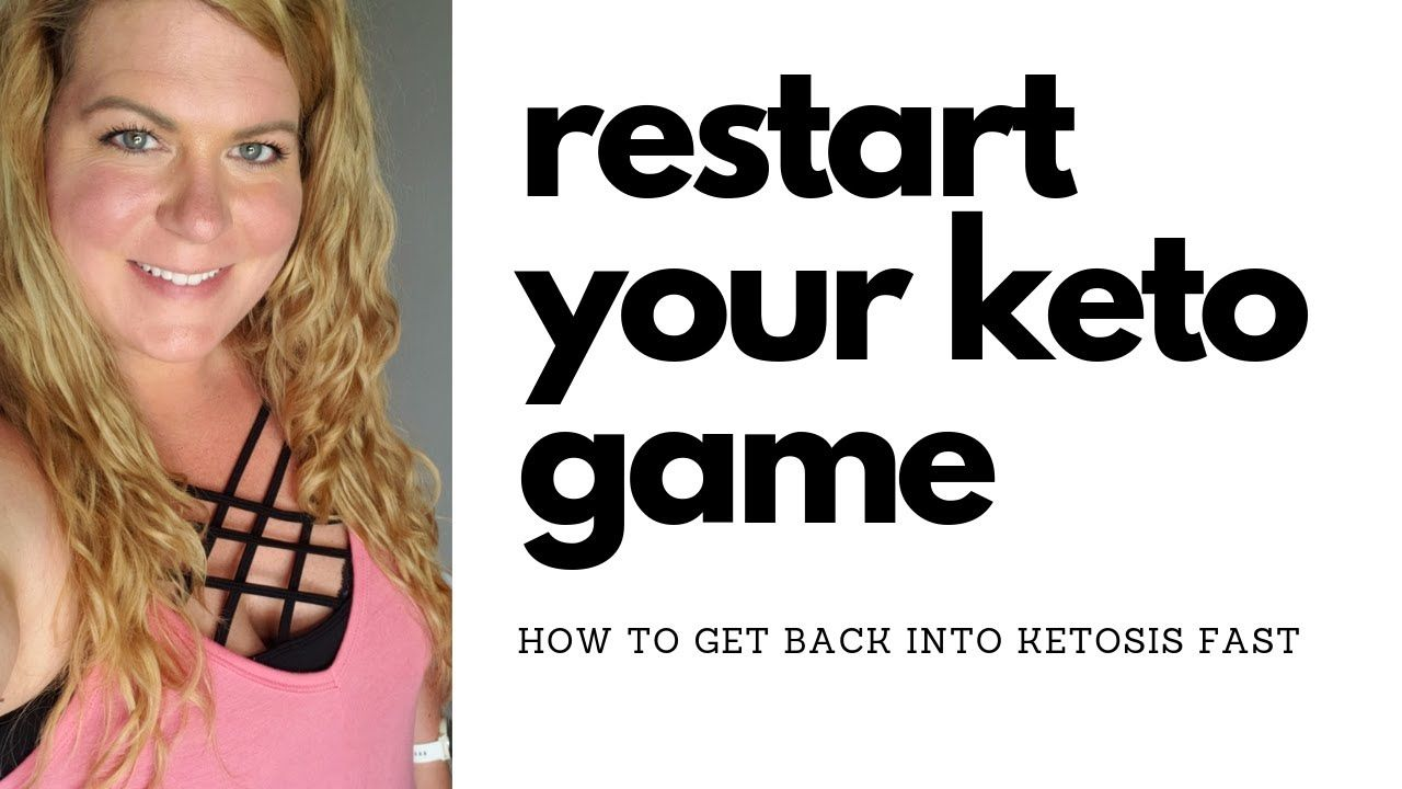 RESTART YOUR KETO GAME HOW TO GET BACK INTO KETOSIS WHAT I