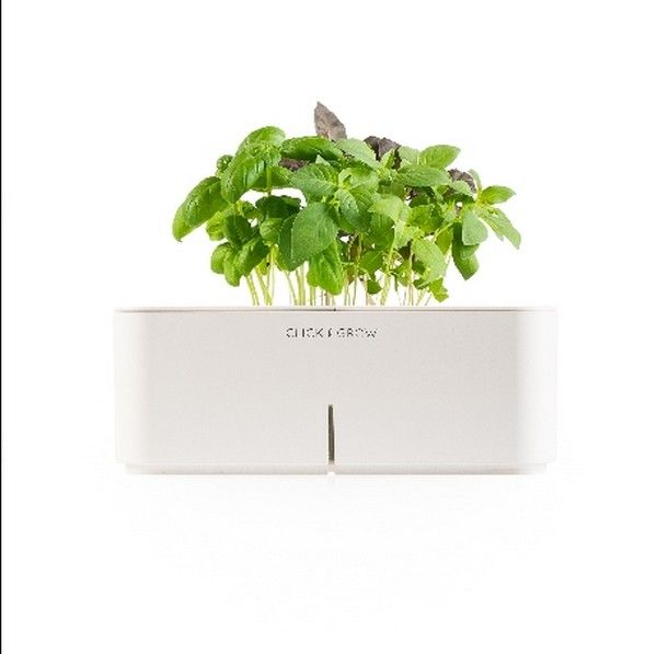 Reinventing Indoor Gardening Click And Grow Electronic Flowerpots
