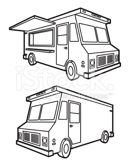 A vector illustration of both sides of a classic food